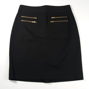 ❤Banana Republic Size 4 Black Pencil Skirt 395